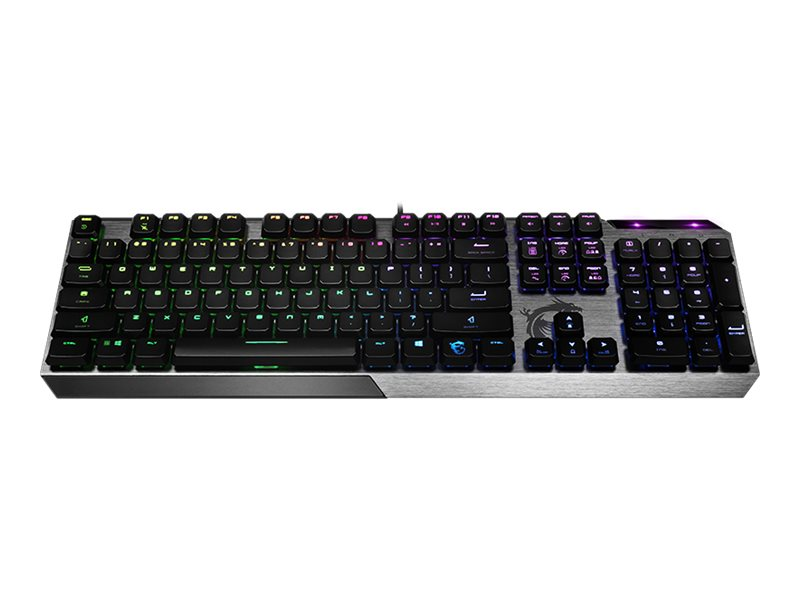 MSI Vigor GK50 Low Profile - Tastatur - backlit