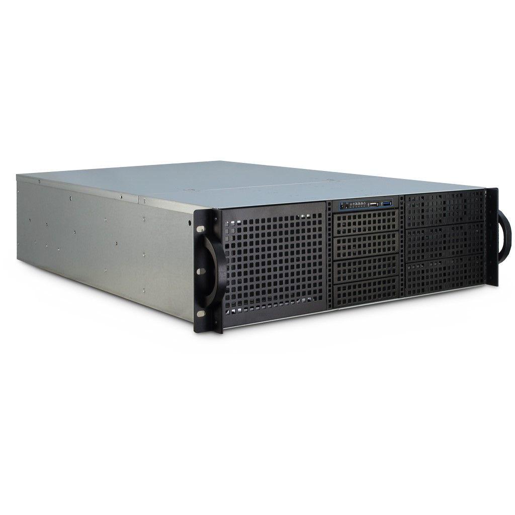Inter-Tech 3U-30255 - Rack - Server - Stahl - Schwarz - Edelstahl - ATX,CEB,Micro ATX,Mini-ATX,Mini-ITX - 3U