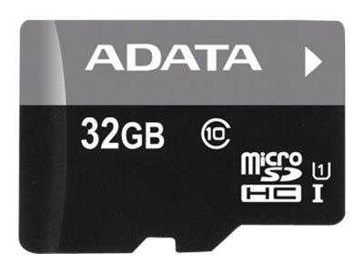 ADATA Premier - Flash-Speicherkarte (microSDHC/SD-Adapter inbegriffen)