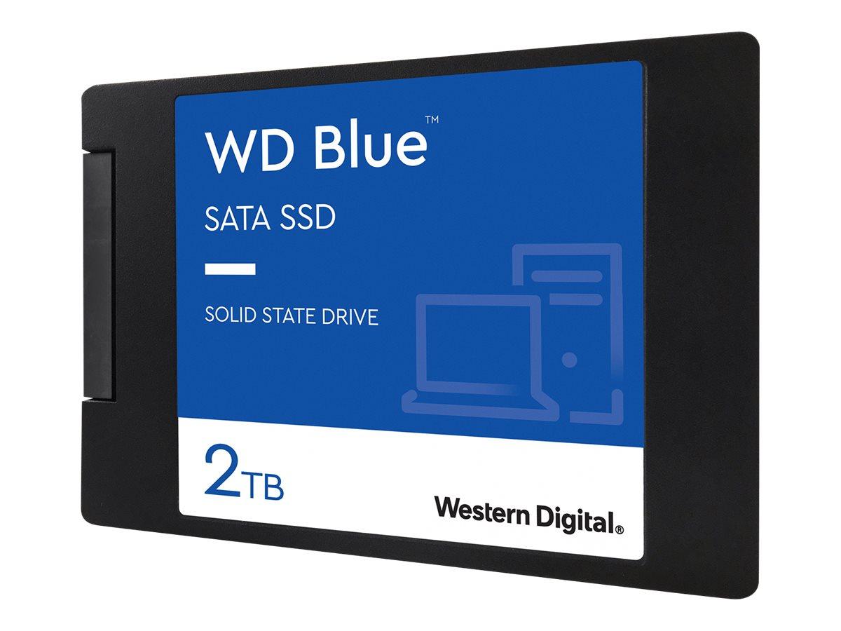 """WD Blue 3D NAND SATA SSD WDS200T2B0A - 2 TB SSD - intern - 2.5"""" (6.4 cm)"""