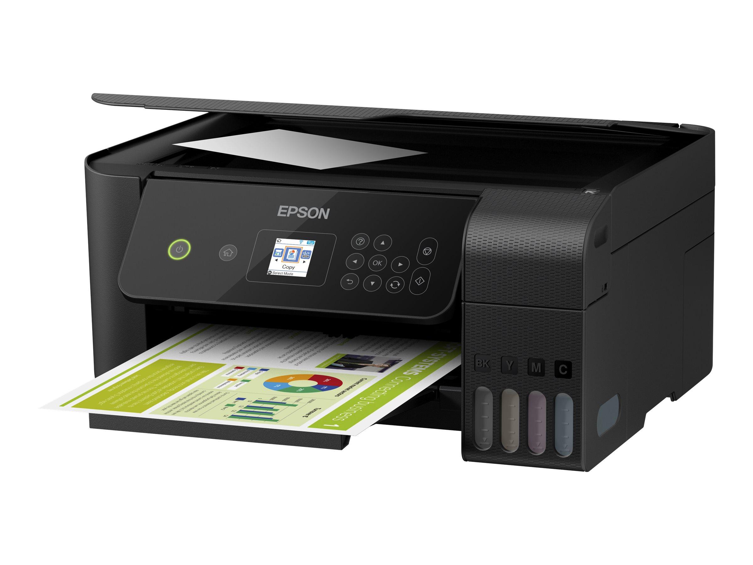 Epson EcoTank ET-2720 - Multifunktionsdrucker - Farbe - Tintenstrahl - refillable - A4/Legal (Medien)