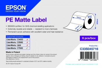 Epson PE Matte 76mm x 127mm - 960