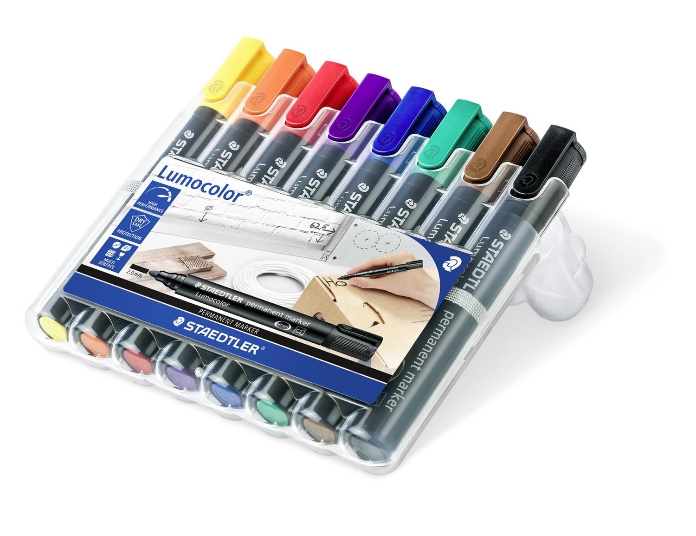 Vorschau: STAEDTLER 352 WP8 - Schwarz - Blau - Braun - Grün - Orange - Rot - Violett - Gelb - Mehrfarben - 2 mm - 8 Stück(e)