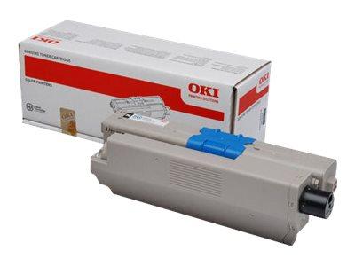 OKI Schwarz - Original - Tonerpatrone - für OKI MC562dn, MC562dnw, MC562w