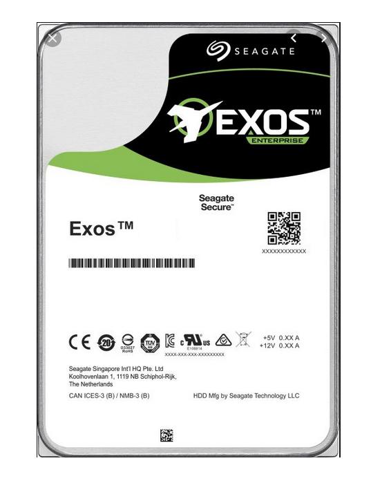 Seagate Exos X16 ST16000NM001G - Festplatte - 16 TB