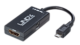 Lindy Externer Videoadapter - MHL - HDMI