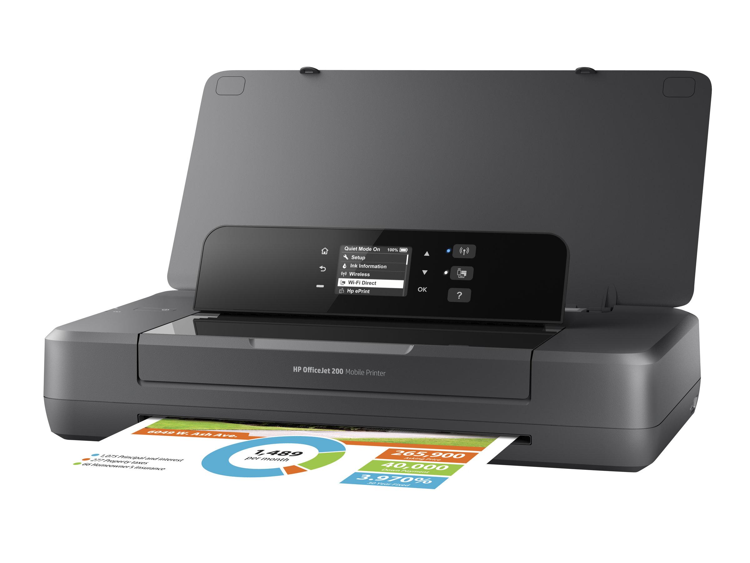 Vorschau: HP Officejet 200 Mobile Printer