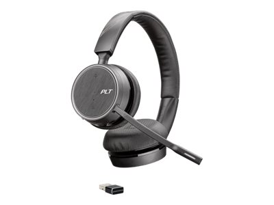 Poly Plantronics Voyager 4220 - Headset - Kabellos - Bluetooth 4.1