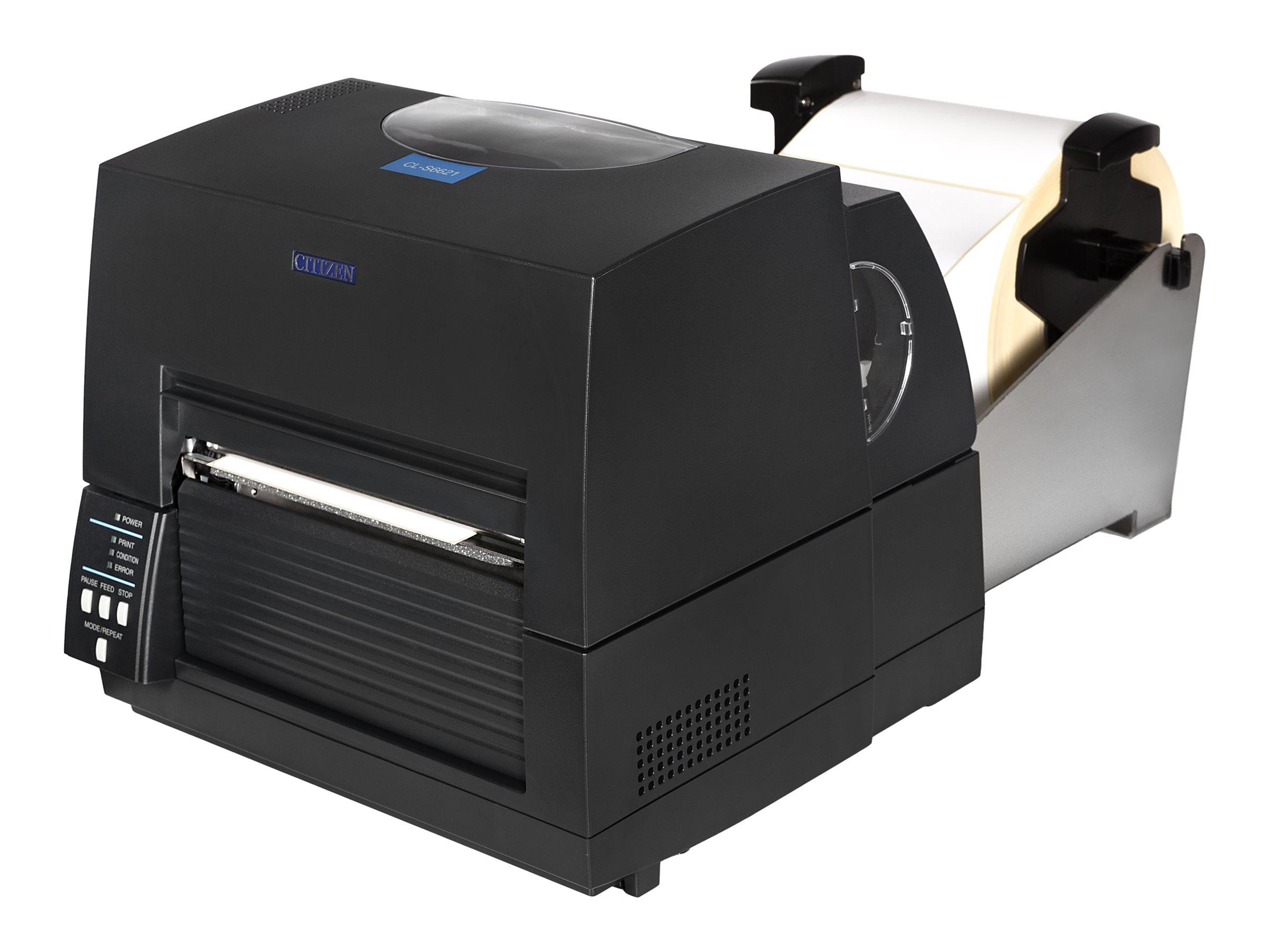 Citizen CL-S6621XL - Etikettendrucker - TD/TT - Rolle (17,8 cm)