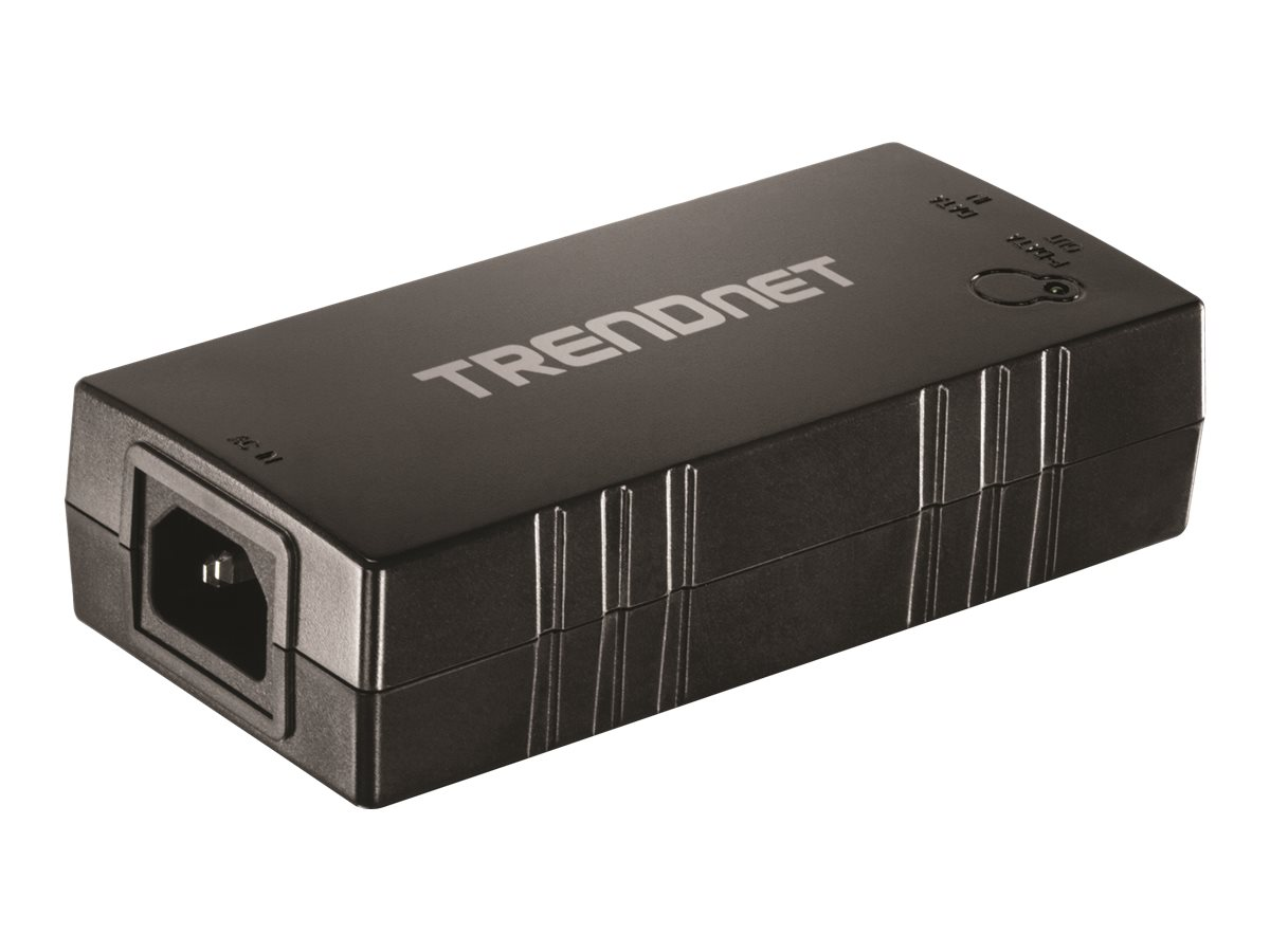TRENDnet TPE-115GI Gigabit PoE+ Injector - Power Injector