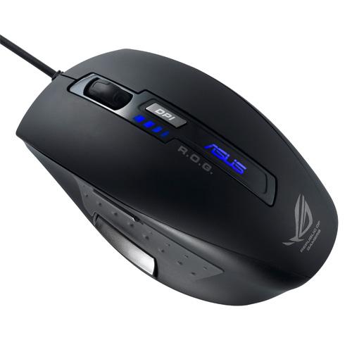 ASUS GX850 USB Laser 5000DPI Schwarz Maus