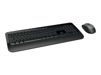2000 Tastatur RF Wireless QWERTZ Deutsch Schwarz
