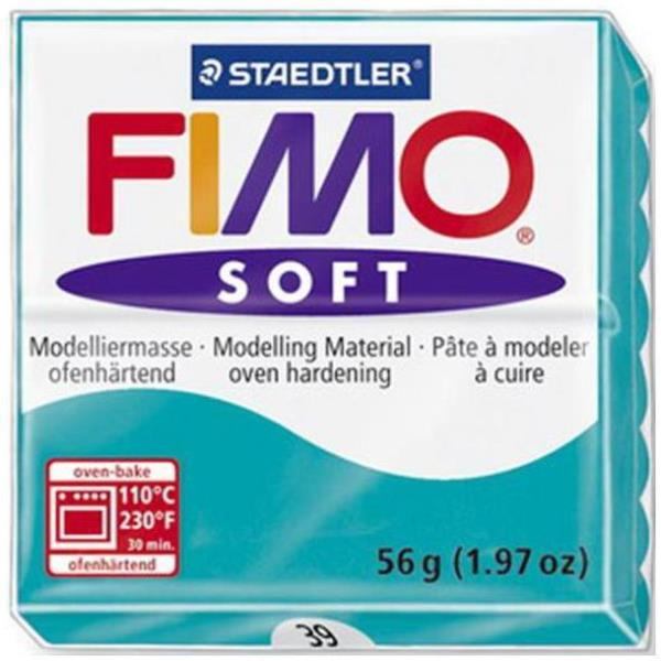 Vorschau: STAEDTLER FIMO soft - Knetmasse - Grün - 110 °C - 30 min - 56 g - 55 mm