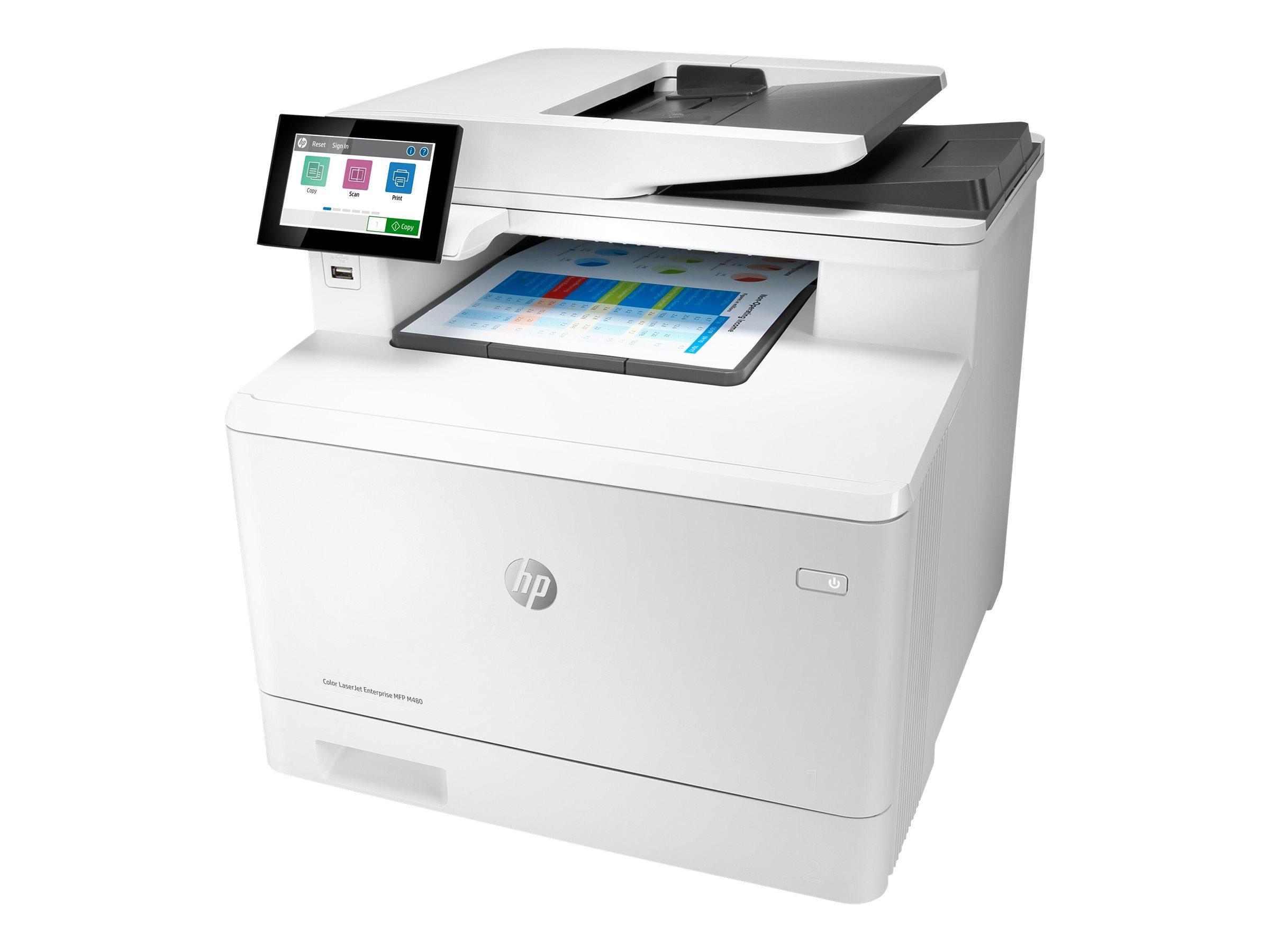 HP LaserJet Enterprise MFP M480f - Multifunktionsdrucker - Farbe - Laser - Legal (216 x 356 mm)