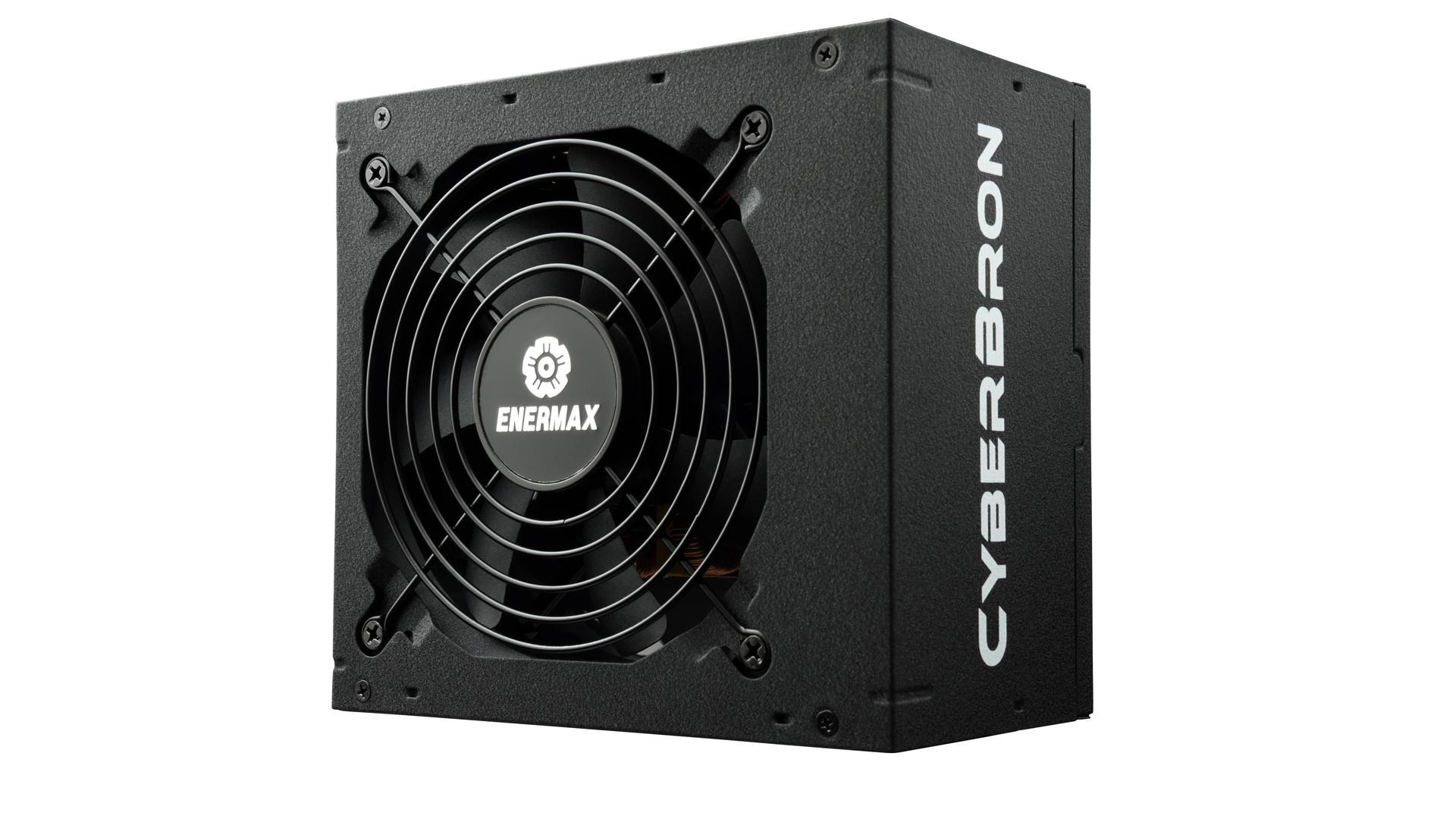 Enermax CyberBron - 600 W - 100 - 240 V - 47 - 63 Hz - 9 A - Aktiv - 110 W