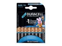 Duracell Ultra Power MX2400 - Batterie 16 x AAA-Typ