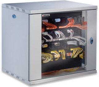Intellinet 711890 Freestanding rack 60kg Grau Rack