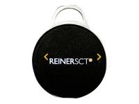 timeCard Premium transponder MIFARE DESFire EV2 - RFID-Tag - mattschwarz (Packung mit 10)