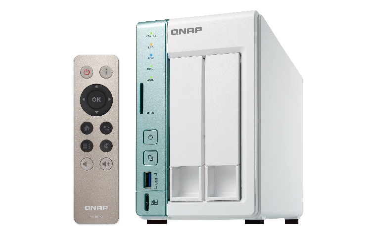 QNAP TS-251A - NAS-Server - 2 Schächte
