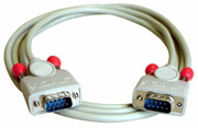 Lindy 9 pol. RS232 1 1 Kabel - Kabel - 10 m