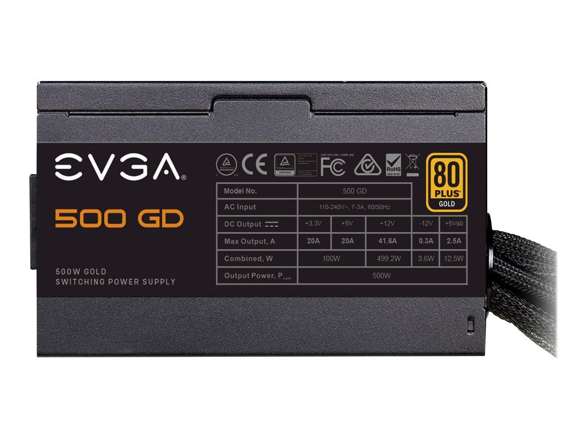 EVGA 500 GD - Netzteil (intern) - ATX12V / EPS12V