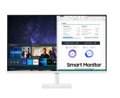 Vorschau: Samsung LS32AM501NUXEN - 81,3 cm (32 Zoll) - 1920 x 1080 Pixel - Full HD - LCD - 8 ms - Weiß