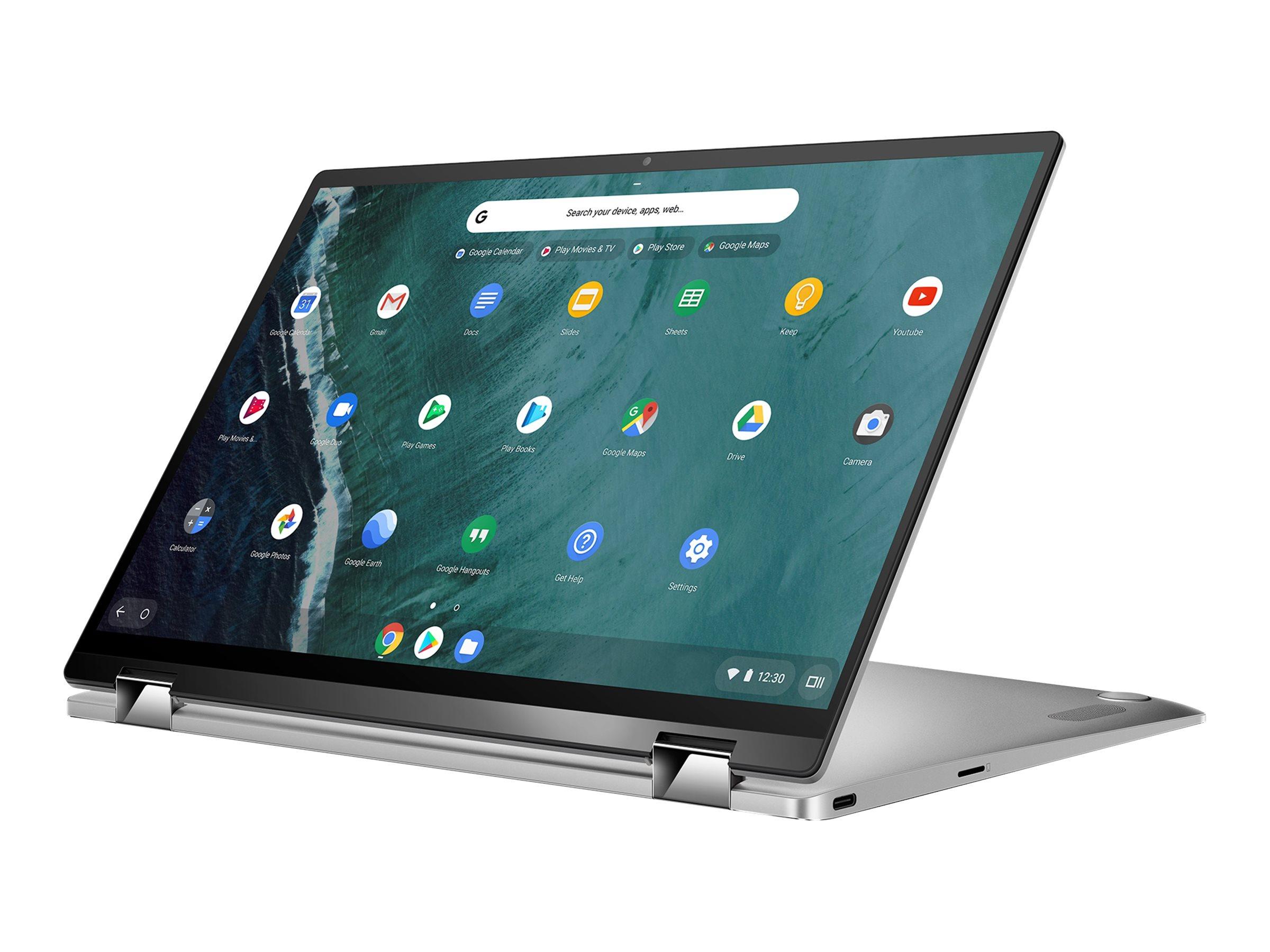 "ASUS Chromebook Flip C434TA AI0264 - Flip-Design - Core m3 8100Y / 1.1 GHz - Chrome OS - 8 GB RAM - 64 GB eMMC - 35.6 cm (14"")"
