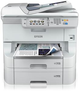 Epson WorkForce WF-8590 DTWF 4800 x 1200DPI Tintenstrahl A3+ 34Seiten pro Minute WLAN Multifunktionsgerät
