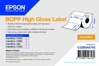 Epson BOPP HG 76mm x 51mm - 2770