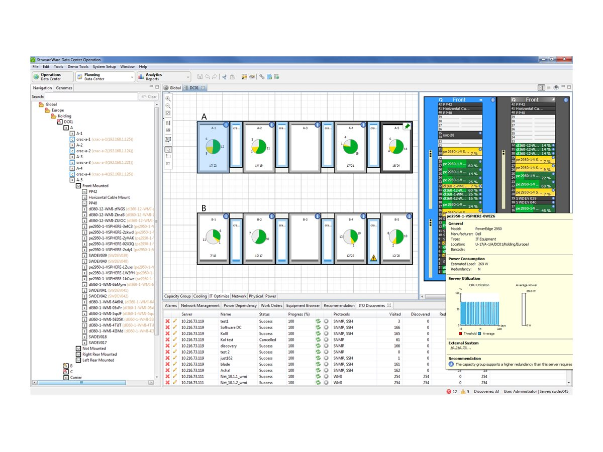 APC StruxureWare Data Center Operation IT Optimize