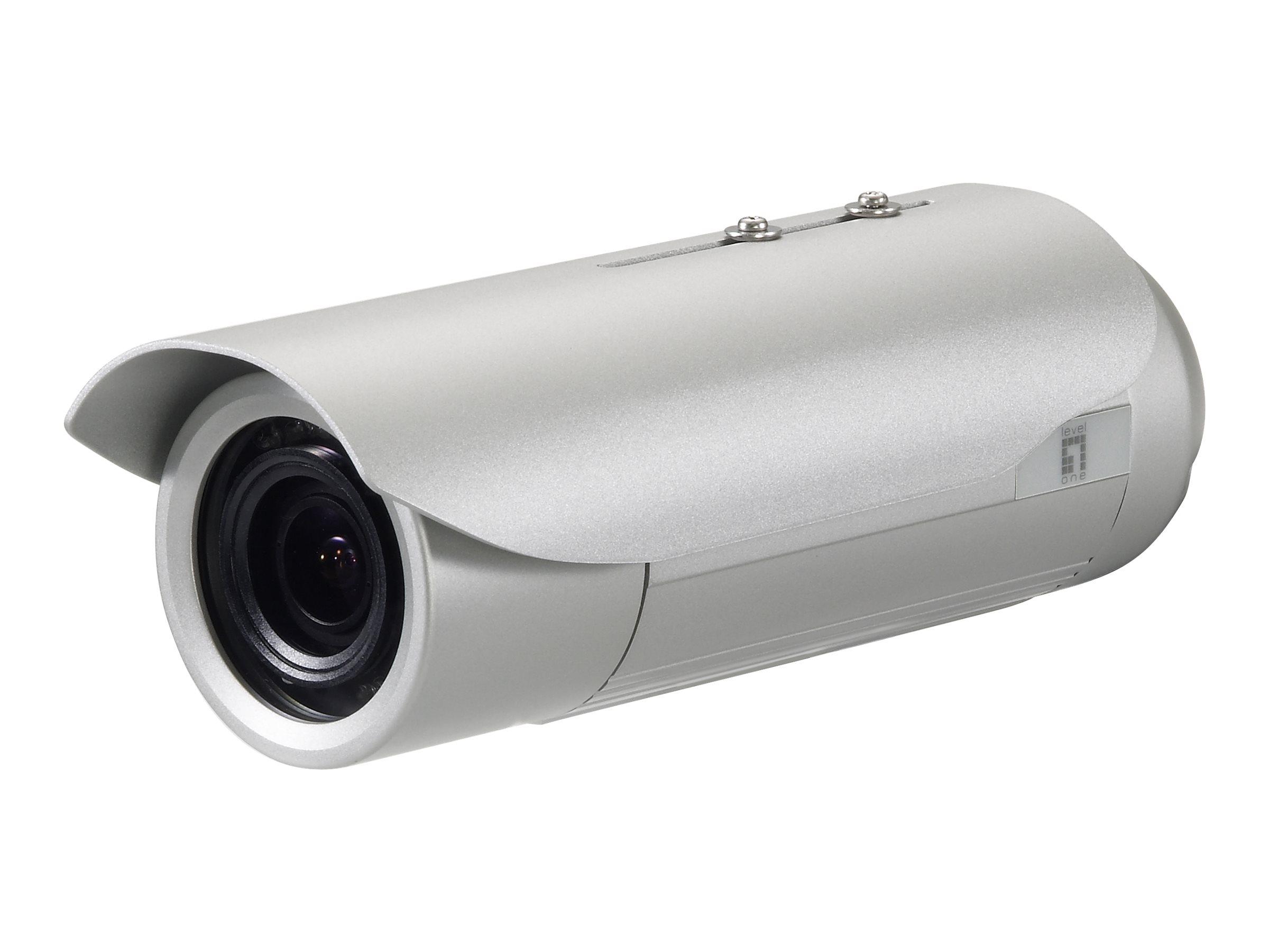 LevelOne FCS-5057 - Netzwerk-Überwachungskamera - Außenbereich - Vandalismussicher / Wetterbeständig - Farbe (Tag&Nacht)