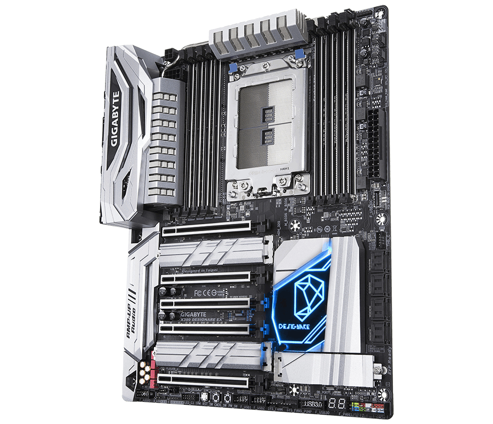Mobile Preview: Gigabyte X399 DESIGNARE EX AMD X399 ATX Motherboard