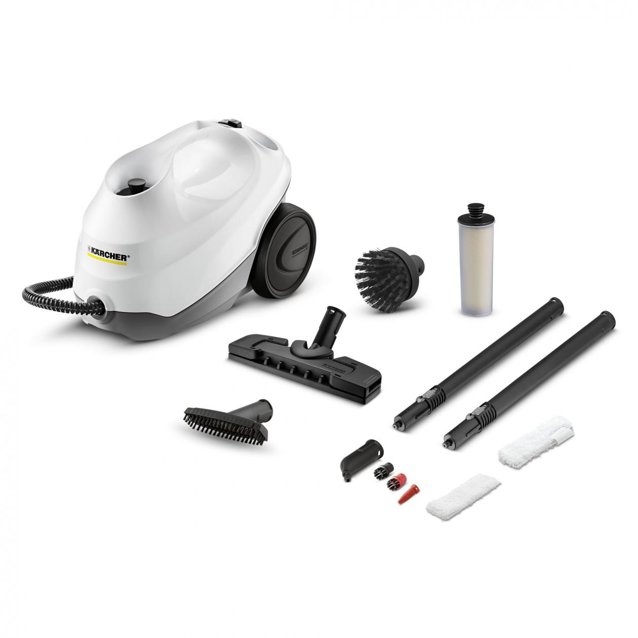 SéRieux Kärcher 1.513-050.0 Sc 3 Premium Cylinder Steam Cleaner 1 L Black,white 1900 W Chaud Et Coupe-Vent