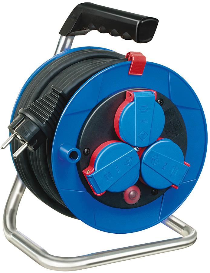 Brennenstuhl Garant Compact cable reel H05RR-F 3G1,5 - Verlängerungsrolle - Eingabe, Eingang Stromversorgung - Ausgangsanschlüsse: 3 (Stromversorgung)