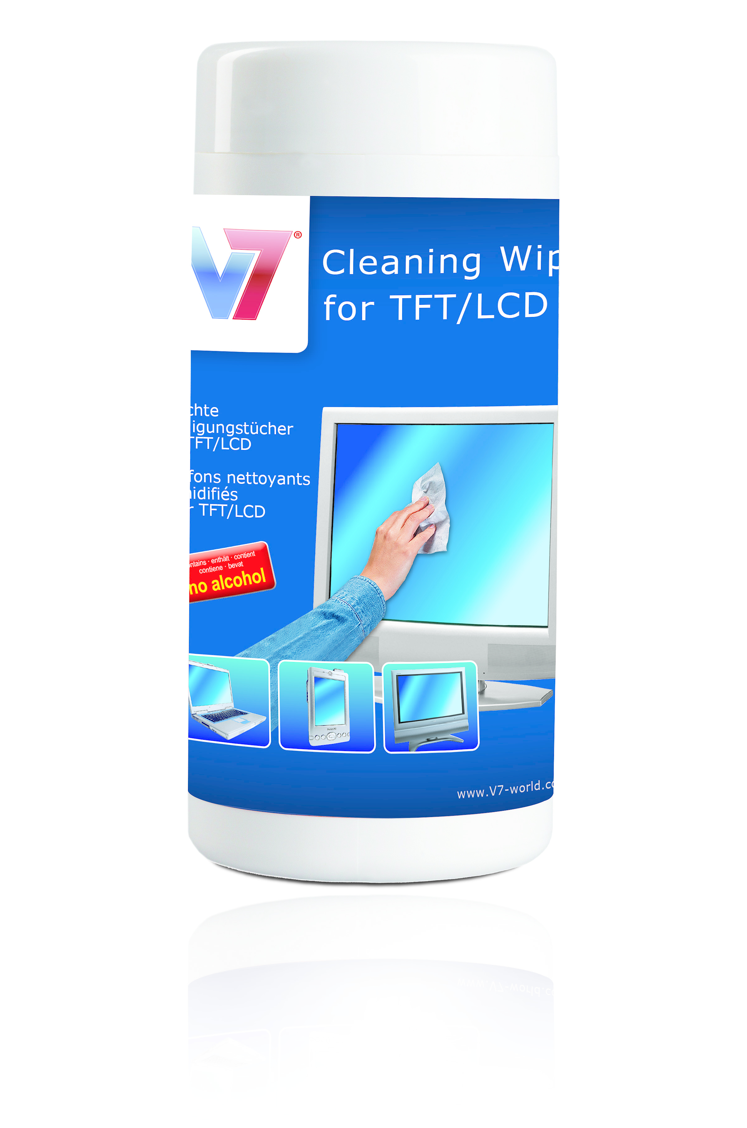 V7 Reinigungstücher (Wipes)