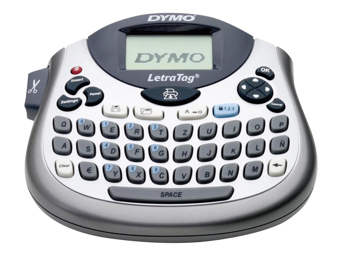 Dymo LetraTag LT-100T - Beschriftungsgerät - monochrom - Thermopapier - Rolle (1,2 cm)
