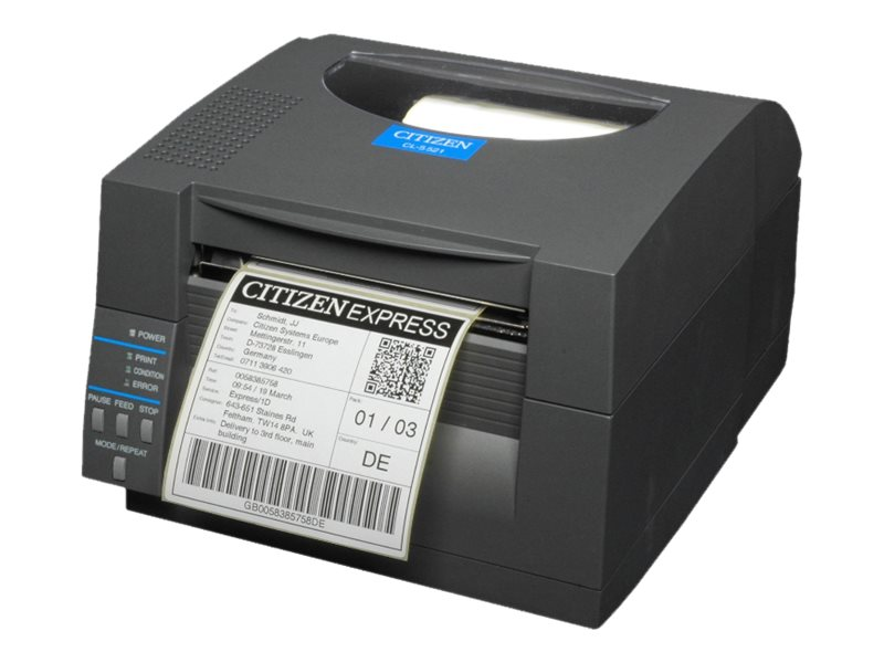 Citizen CL-S521 - Etikettendrucker - Thermopapier - Rolle (11,8 cm)
