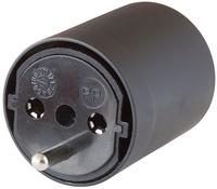 Brennenstuhl 1081592404 - 230 V - Schwarz - 41 mm - 65 mm - 41 mm - 50 g