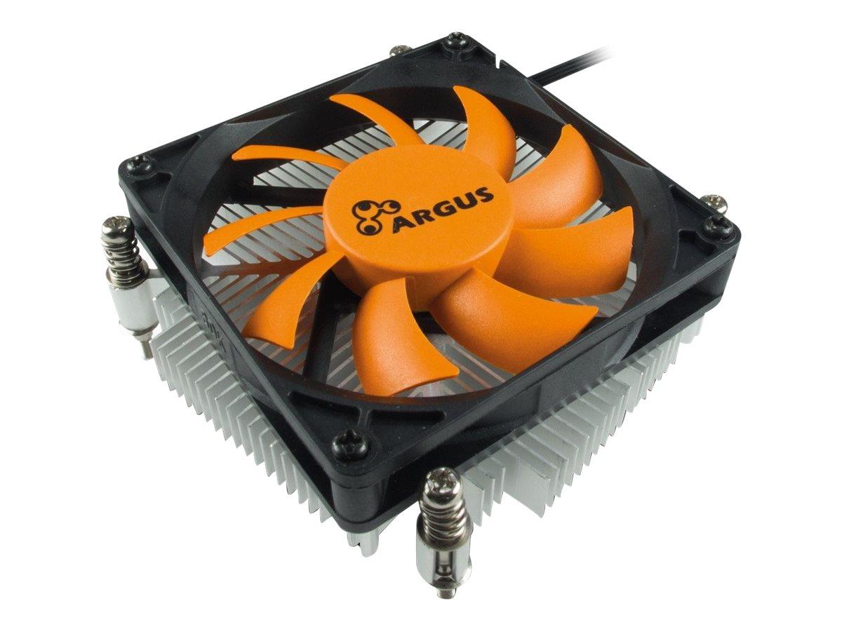 Inter-Tech Argus T-200 - Prozessor-Luftkühler - (für: LGA1156, LGA1155, LGA1150, LGA1151)