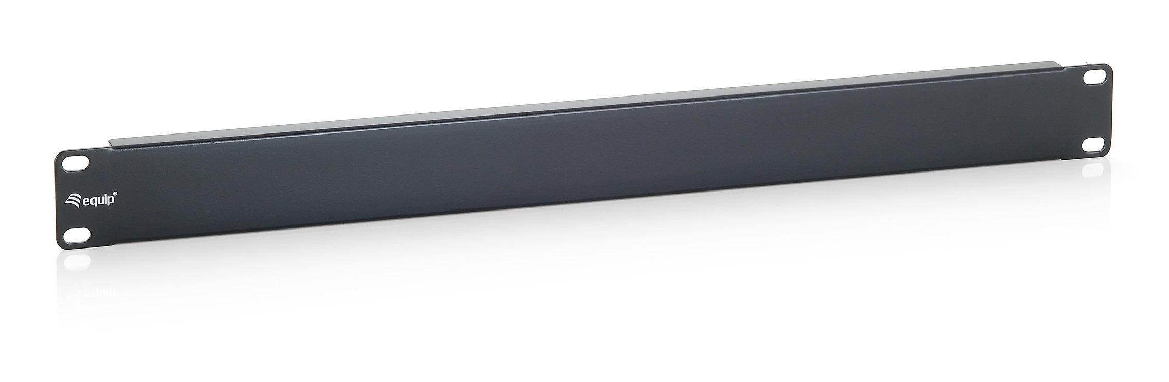 """equip Patch Panel - Blindabdeckung - Schwarz, RAL 9005 - 2U - 48.3 cm (19"""")"""