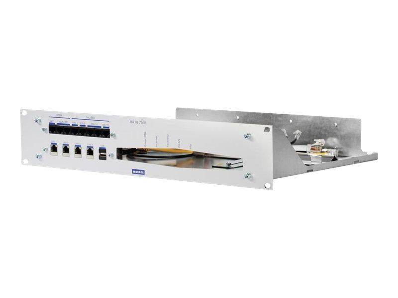 """WANTEC Netzwerkgerät-Montageschrank - Rack montierbar - 2U - 48.3 cm (19"""")"""