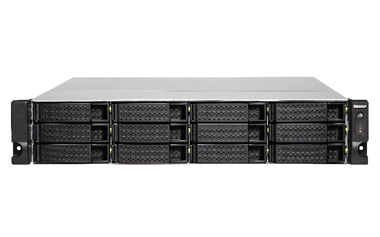 QNAP TS-1263U - NAS-Server - 12 Schächte