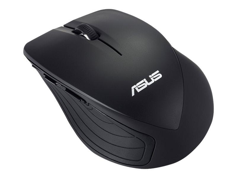 ASUS WT465 - Maus - optisch - kabellos - 2.4 GHz - kabelloser Empfänger (USB)