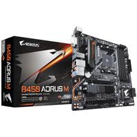 B450 AORUS M (rev. 1.0) Motherboard Buchse AM4 AMD B450 Micro ATX