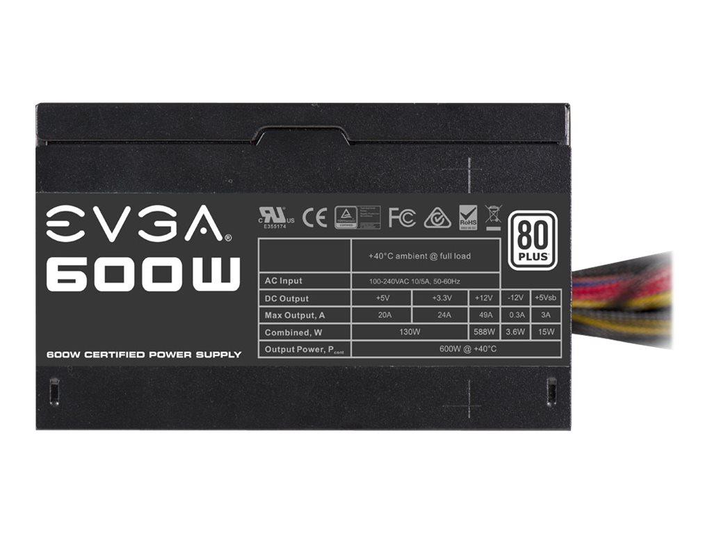 EVGA 100-W1-0600-K2 - Netzteil (intern) - ATX12V / EPS12V