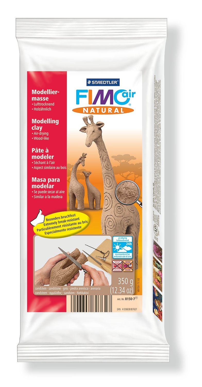 Vorschau: STAEDTLER FIMO air natural 8150 - Knetmasse - Braun - Erwachsene - 1 Stück(e) - Sandstone - 1 Farben