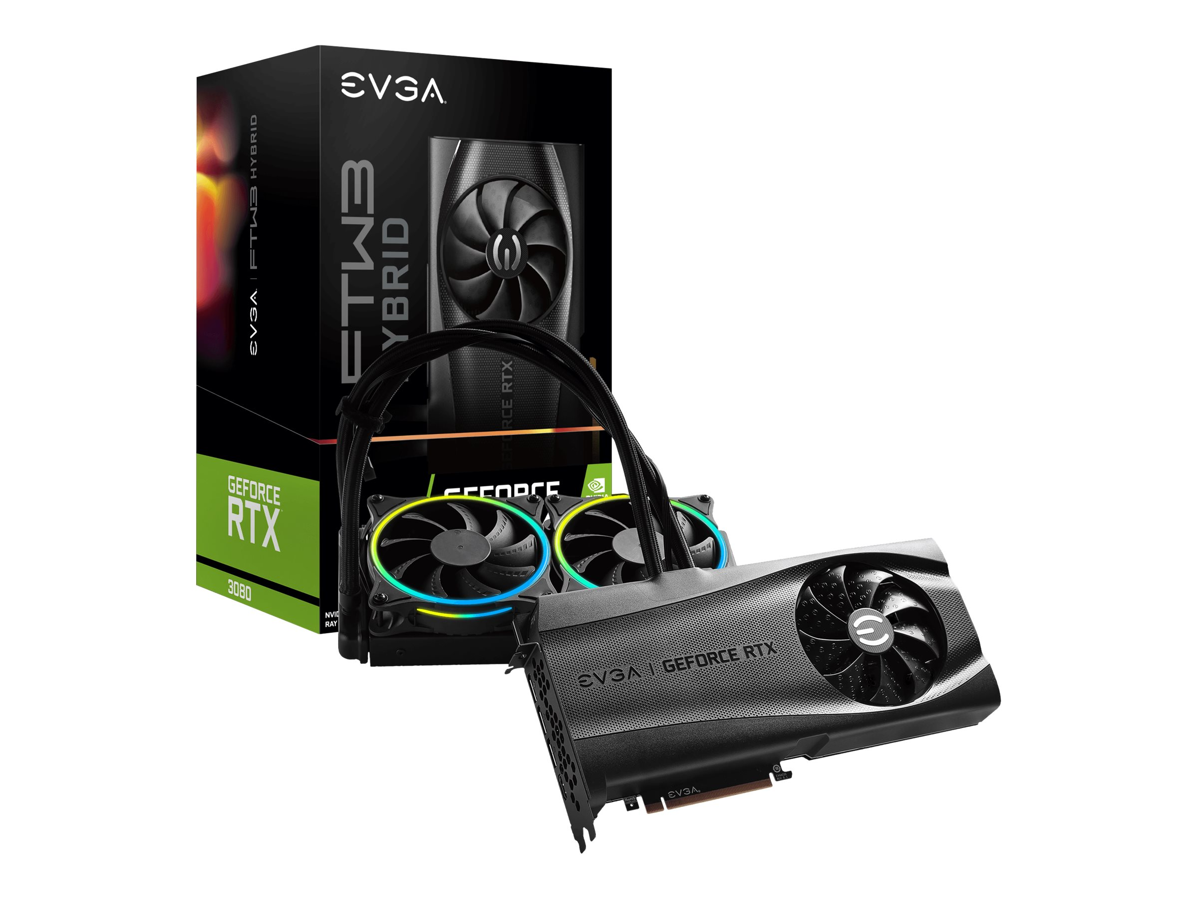 Vorschau: EVGA GeForce RTX 3080 FTW3 ULTRA HYBRID GAMING