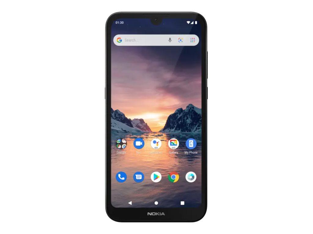 "Nokia 1.3 - Smartphone - Dual-SIM - 4G LTE - 16 GB - microSDXC slot - GSM - 5.71"" - 1560 x 720 Pixel - RAM 1 GB - 8 MP ("