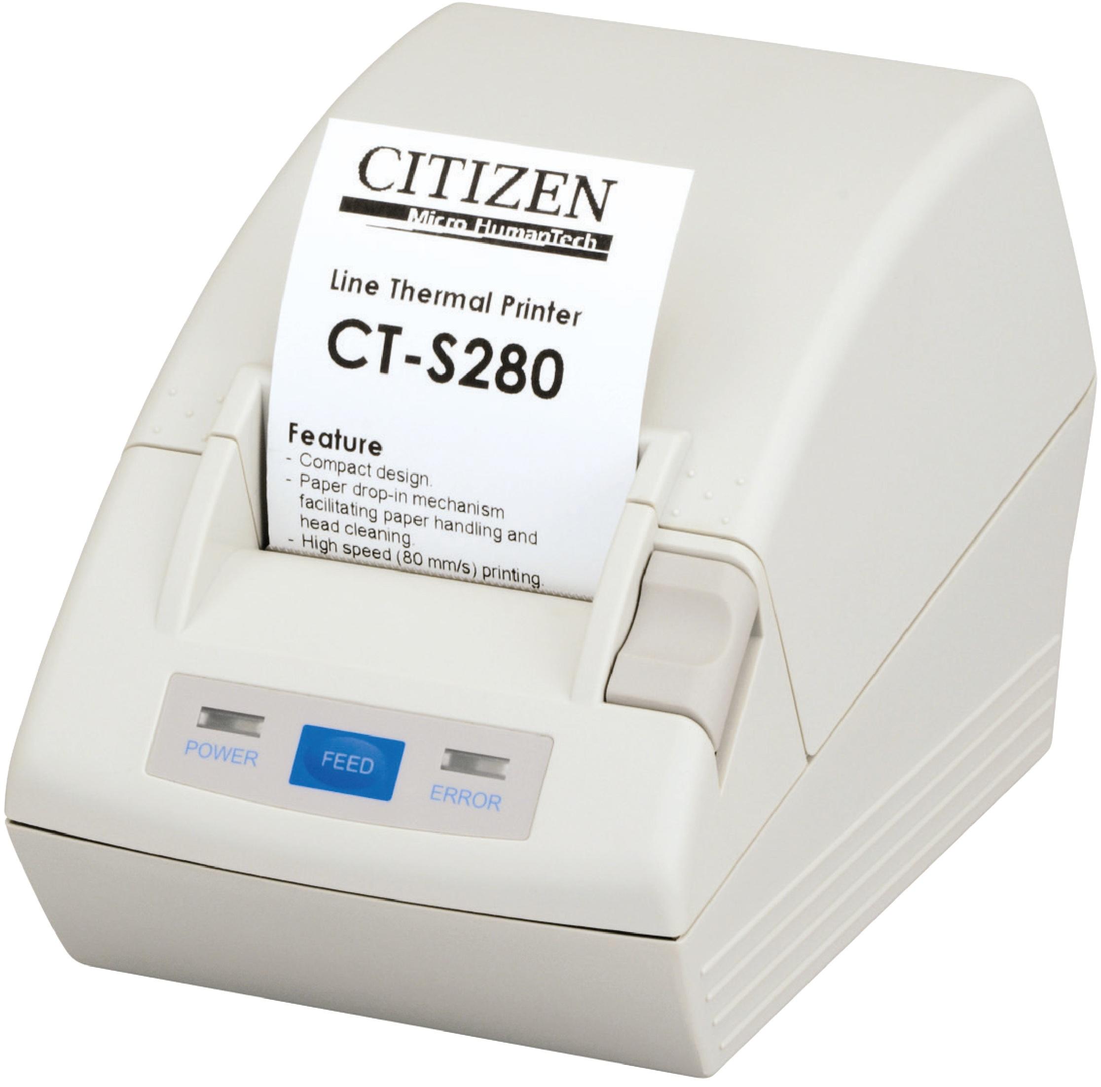 Citizen CT-S280 Direkt Wärme POS printer 203 x 203 DPI
