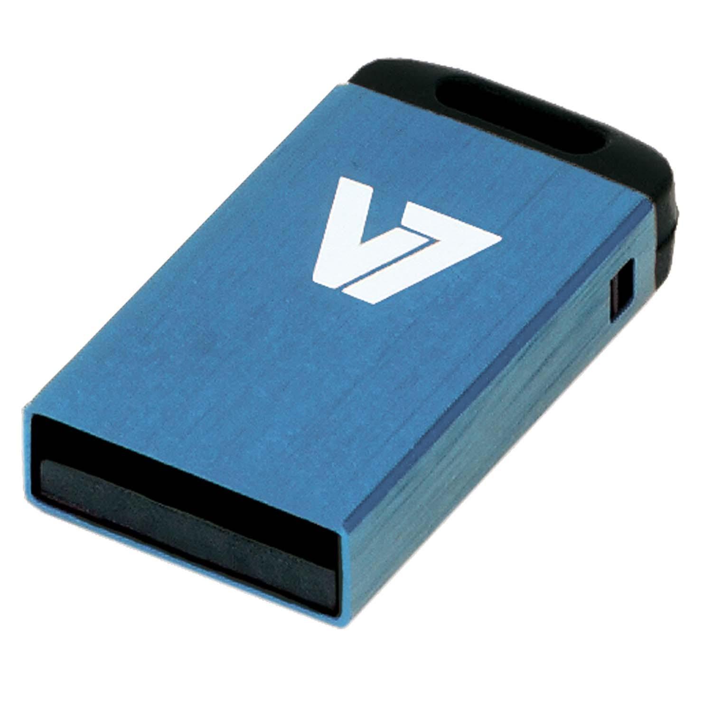 V7 VU216GCR-BLU-2E - Nano USB-Flash-Laufwerk - 16 GB